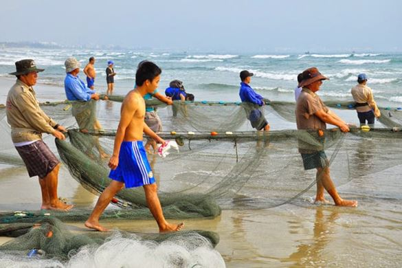 Fischfang in Phu quoc