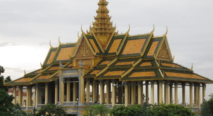 Nationalpalast in Phnom Penh