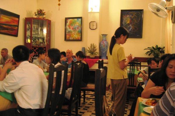 Com Chay Nang Tam Restaurant Hanoi Vietnam