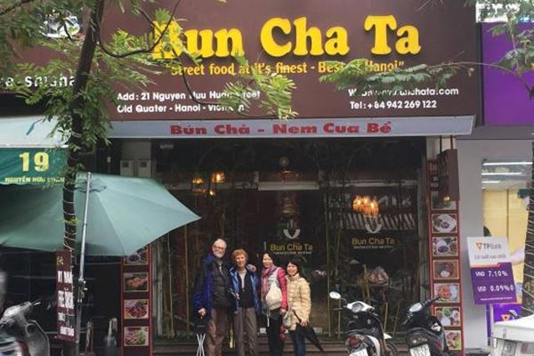 Bun Cha Ta Restaurant Hanoi Vietnam