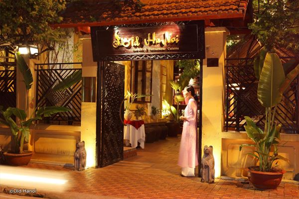 Old Hanoi Restaurant Vietnam