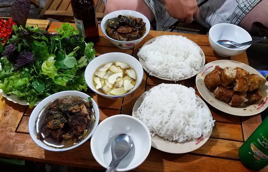 bun-cha - Vietnam -Reisen - Essen und Trinken