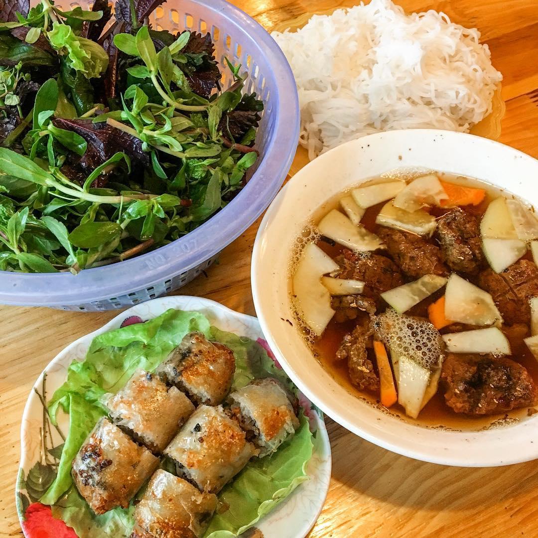 bun-cha - Vietnam -Reisen - Essen und Trinken 01