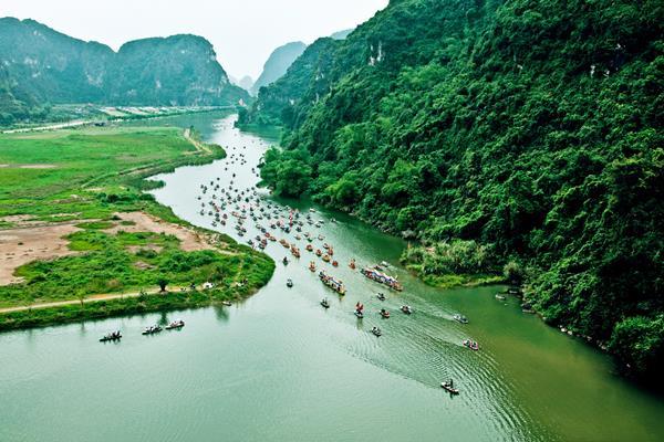 Der Landschaftskomplex Trang An