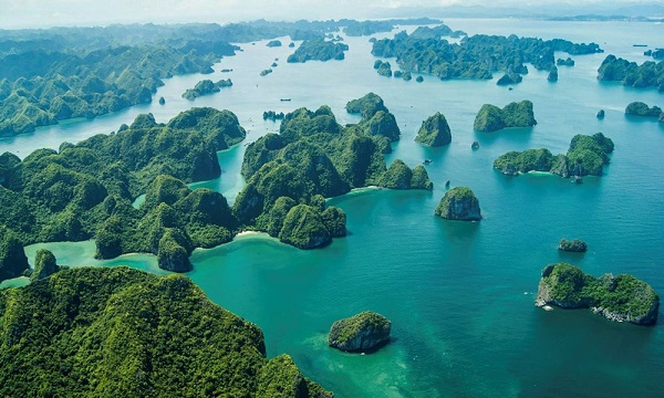Halong Bucht, Vietnam Reiseziele