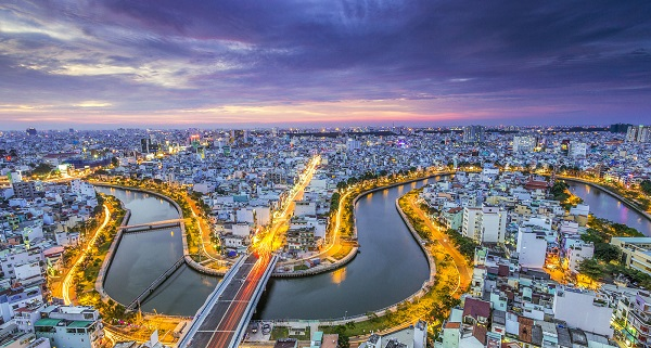 Ho Chi Minh Stadt, Vietnam Reiseziele